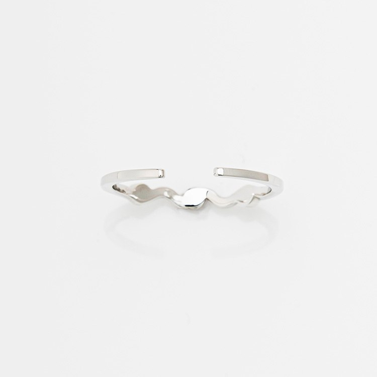 NUWL WAVELET RING SILVERのサムネイル